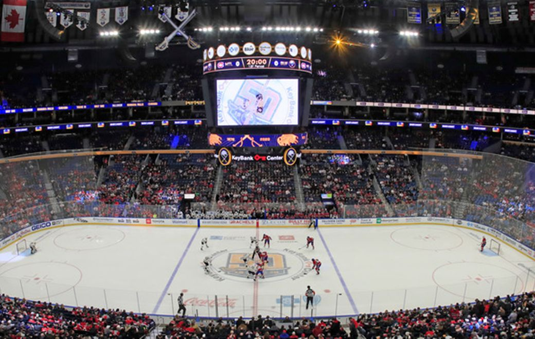 The Buffalo Sabres face the Montreal Canadiens at KeyBank Center on Thursday, Jan. 30, 2020. (Harry Scull Jr./Buffalo News)