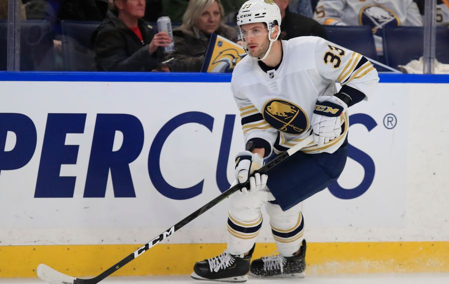 Colin Miller returns to Vegas Friday night (Harry Scull Jr./News file photo).
