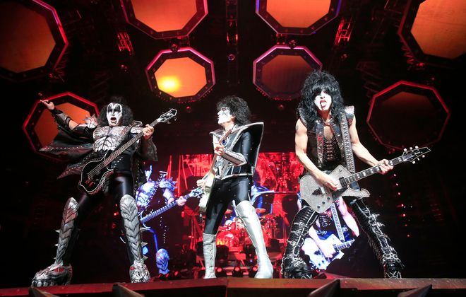 As has been true for years, the Kiss performance at KeyBank Center was more spectacle than traditional concert. (Harry Scull Jr./Buffalo News)