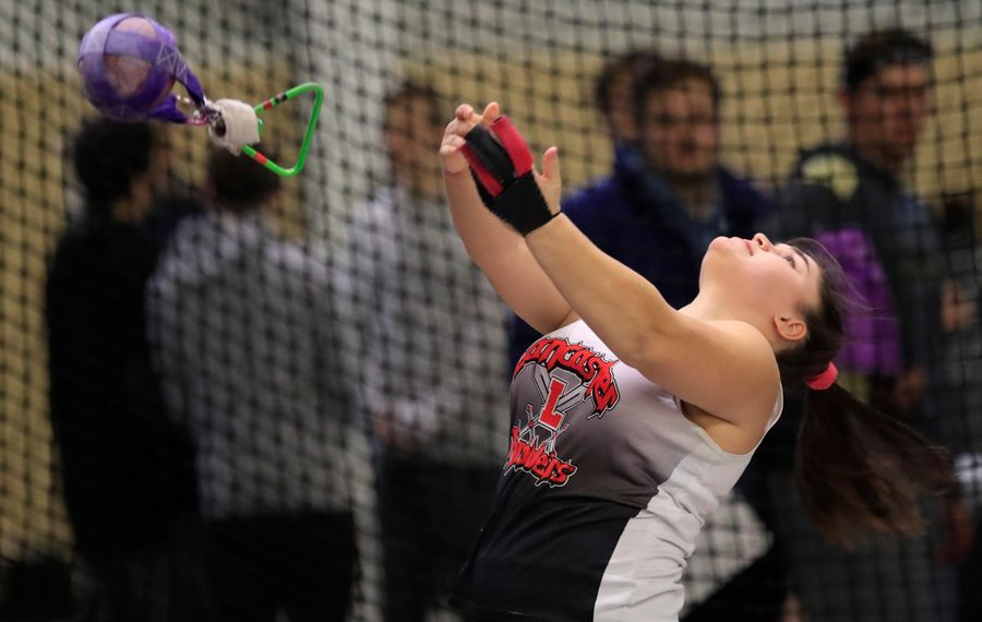 Pasqualetti, Surdej, James outstanding in girls indoor state qualifier