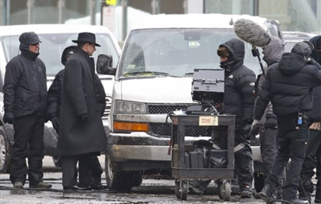 Inside look: Bradley Cooper, Guillermo del Toro at 'Nightmare Alley' movie shoot in Buffalo