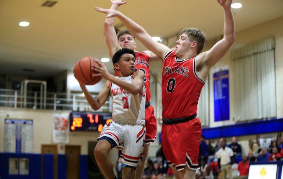 'He plays like a grown man': 7th-grader Greg Brooks making waves for WNY Maritime basketball