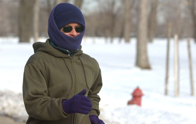 Time to bundle up with wind chills below zero in the forecast. (Sharon Cantillon/News file photo)