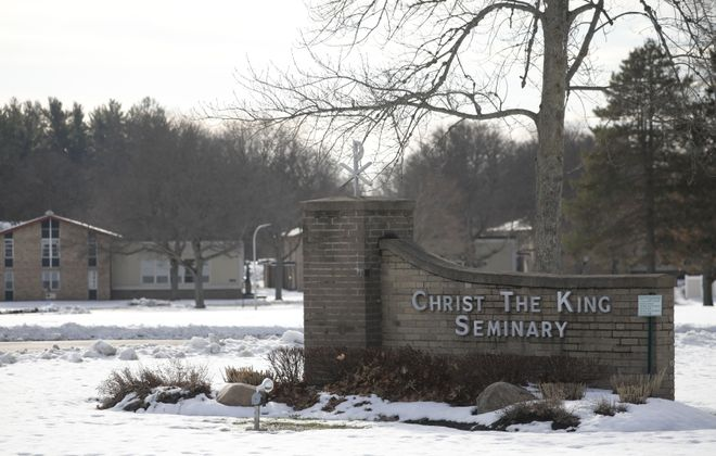 Paul E. Lubienecki is on leave from his job at Christ the King Seminary in East Aurora. (Derek Gee/News file photo)