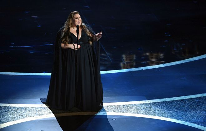Chrissy Metz performs onstage during the 92nd Annual Academy Awards. (Kevin Winter/Getty Images)