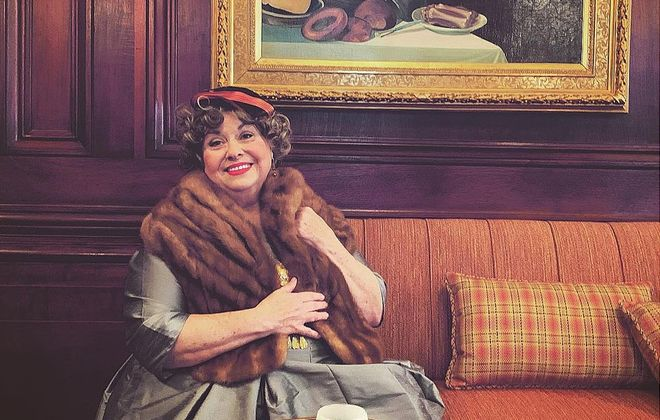 "Mary Kate O'Connell is delightful as Florence Foster Jenkins in ""Glorious!"" at O'Connell & Company."