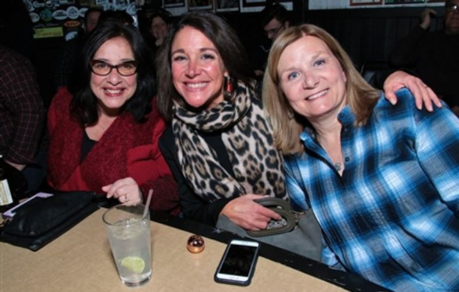 Smiles at Johnny Cash Birthday Bash in Sportsmen's Tavern