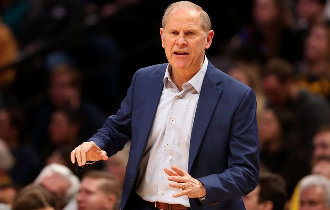John Beilein's 40 losses this year in Cleveland equals the number he had in the last four years combined at the University of Michigan (Getty Images).