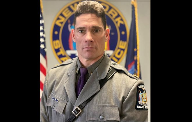 Major James M. Hall has been named the new commander of State Police operations in the eight counties of Western New York. (Photo courtesy of State Police)