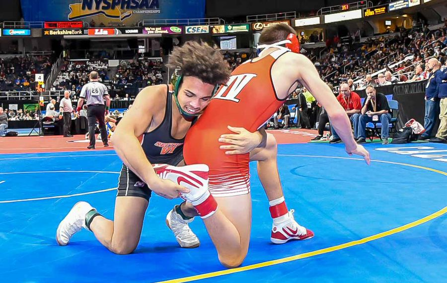 Seven local wrestlers remain in winner's bracket at state championships