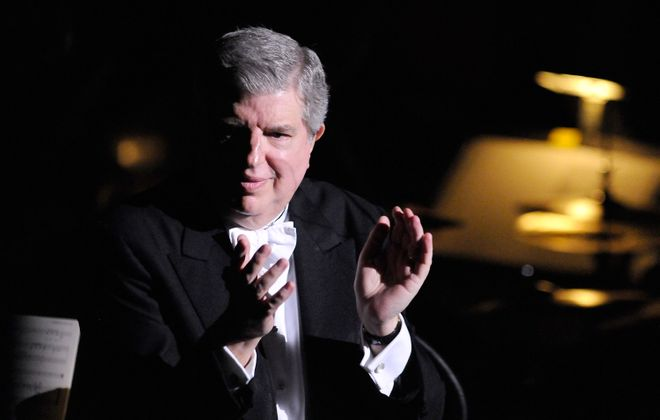 The Buffalo Philharmonic Orchestra will honor the memory of former Pops conductor Marvin Hamlisch in two concerts this weekend. (Getty Images)