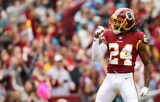 Cornerback Josh Norman is shopping for a new team. (Getty Images)