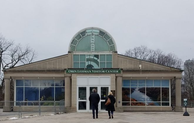 The Orin Lehman Visitor Center in Niagara Falls State Park. (Thomas J. Prohaska/Buffalo News)