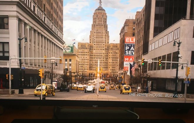 "Is this Buffalo? It is on HBO's ""Avenue 5."""
