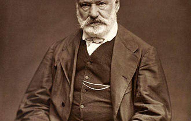 Woodburytype image of Victor Hugo in 1876 by Etienne Carjat.
