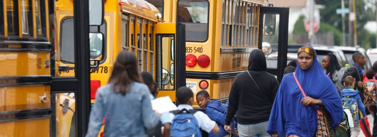 School districts – squeezed between a tax cap and greater student needs – continue to be frustrated by a process that's politically manipulated and provides uncertainty from year to year. (Derek Gee/News file photo)