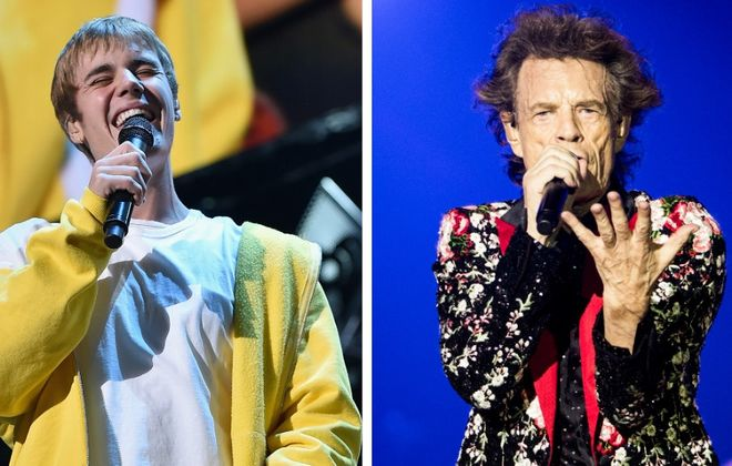 We've got more info on tickets for Buffalo-area concerts from Justin Bieber, left, and the Rolling Stones. (Getty Images)
