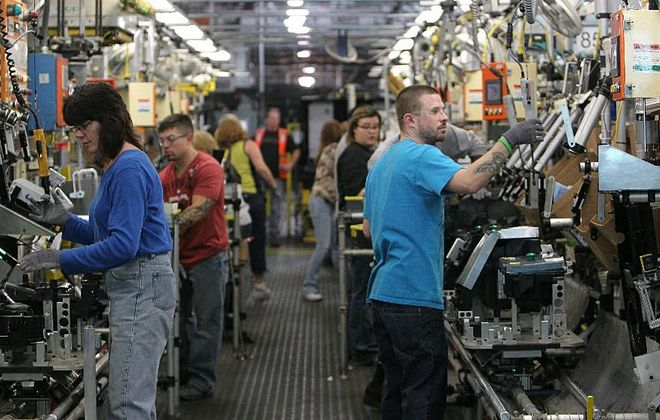 Workers at GM's local plants will benefit from profit-sharing payouts. (Buffalo News file photo)