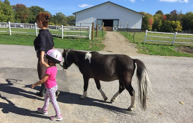 Lothlorien Therapeutic Riding Center is accessible for kids, as well as those with disabilities. (Mary Friona-Celani/Special to The News)