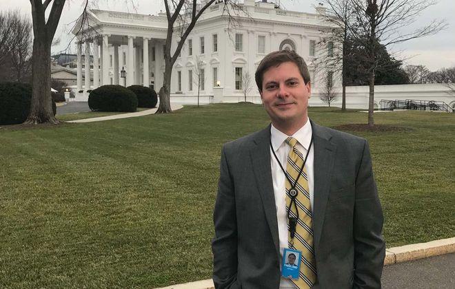 Lewiston native Jeff Freeland is a White House aide. (Photo courtesy of Jeff Freeland)