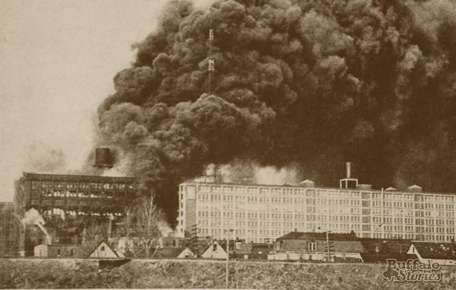 In 1954, the $750,000 general alarm fire at the 10-story warehouse of the Bison Waste and Wiper Co. became the largest fire in Buffalo's history.
