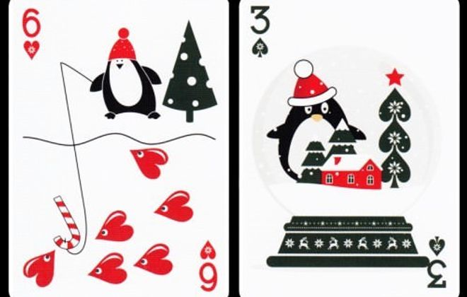 Playing cards by Natalia Silva.
