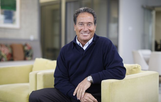 Richard Ferranti, CEO of Rich Products. (Derek Gee/Buffalo News)