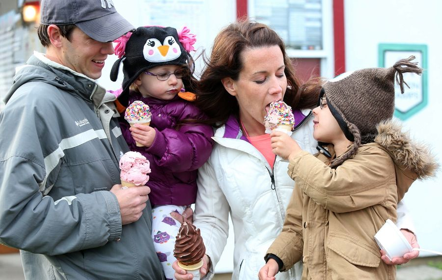 It might not feel like it, but opening day for your favorite ice cream stand/shop might not be far away. (Robert Kirkham/News file photo)