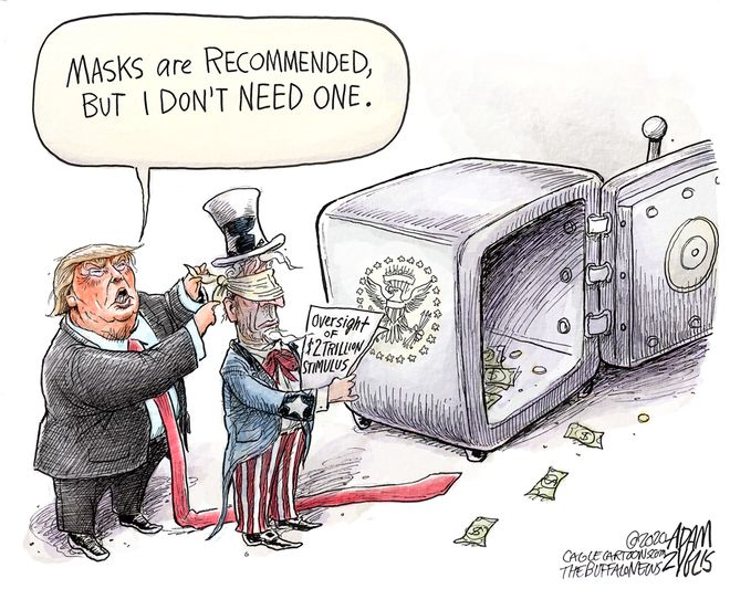 Stimulus oversight: April 8, 2020
