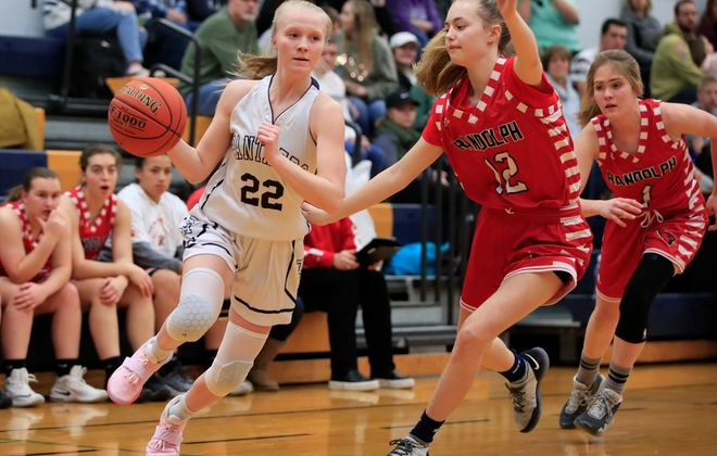 Danielle Haskell of Franklinville concluded her career as the state's No. 2 all-time scorer. ((Harry Scull Jr./Buffalo News)