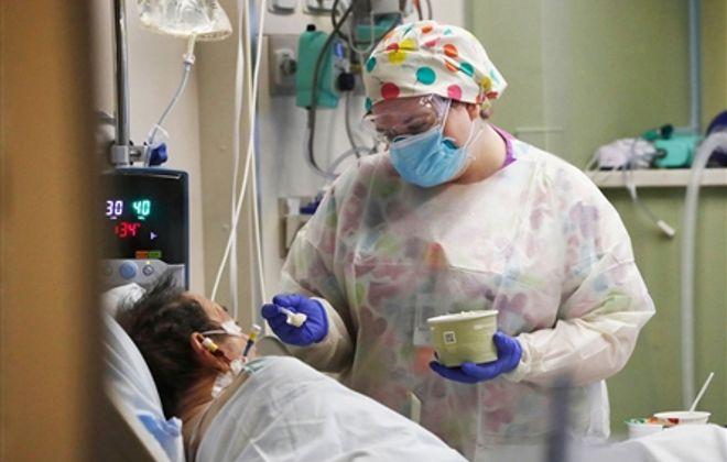 Inside a Covid-19 floor: Buffalo General Medical Center