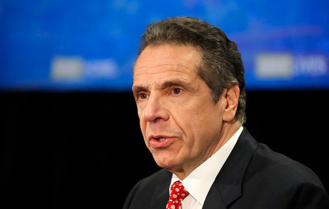 A lawsuit accuses Gov. Andrew Cuomo of overstepping his powers in responding to the Covid-19 pandemic. (Mark Mulville/News file photo)