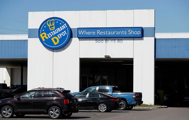 At Restaurant Depot, you'll get restaurant wholesale pricing, giant quantities and some products that aren't readily available elsewhere. (Mark Mulville/Buffalo News)