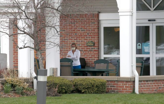 Nursing homes such as Father Baker Manor need to keep residents' relatives informed of Covid-19 issues in their buildings. (Robert Kirkham/Buffalo News)