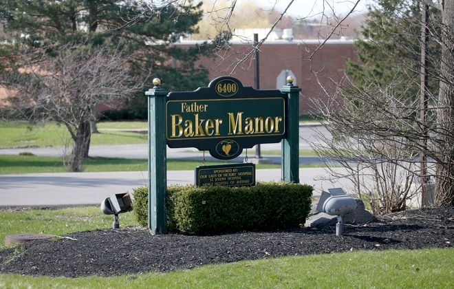 Father Baker Manor nursing home at 6400 Powers Road in Orchard Park. (Robert Kirkham/Buffalo News)