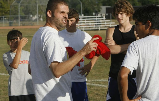 Kenmore East Soccer coach Rolfe Freidenberg has stepped down (.John Hickey/News file photo)
