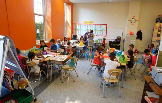 An Elmwood Village Charter School classroom pictured in 2011. John Hickey/News file photo)