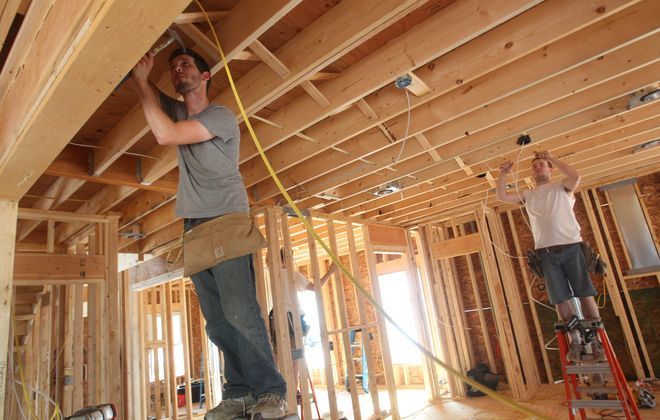 Home builders are confused by the state's mandate to limit construction. (Sharon Cantillon/Buffalo News file photo
