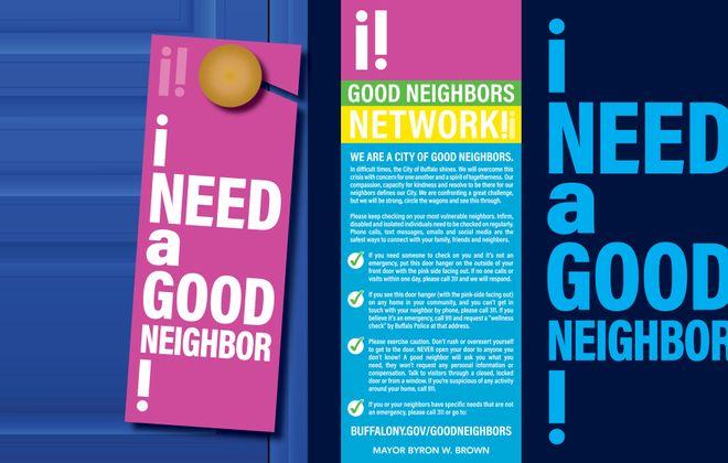 Got a problem that isn't an emergency? In Buffalo, Good Neighbors Network can help.