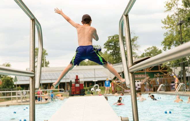 Set on 66 acres, Cradle Beach welcomes nearly 800 campers a summer, including those with disabilities. (Cradle Beach)