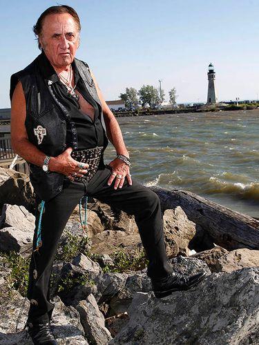 Charles Vicario Jr. 'Big Wheelie,' photographed at the Erie Basin Marina in July 2014.  (Sharon Cantillon/News file photo)