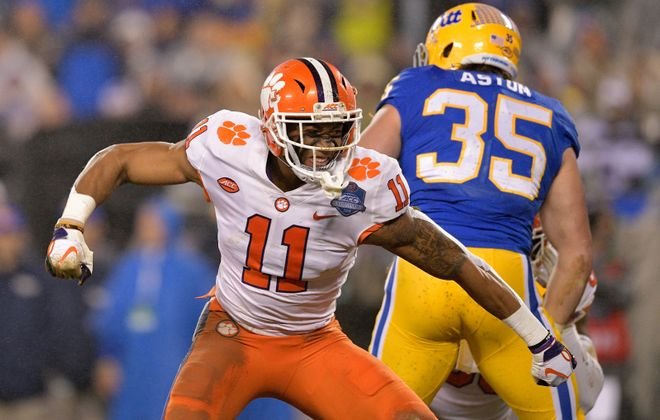 Clemson's Isaiah Simmons is a top linebacker prospect. (Getty Images)