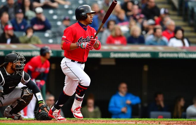At least on MLB The Show 20, Francisco Lindor was a star in the Cleveland Indians' season opener against the Detroit Tigers. Announcer Jim Rosenhaus is doing a daily video game simulation of the Tribe's season. (Getty Images)