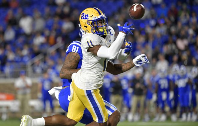Pitt cornerback Dane Jackson played in 50 college games. (Getty Images)