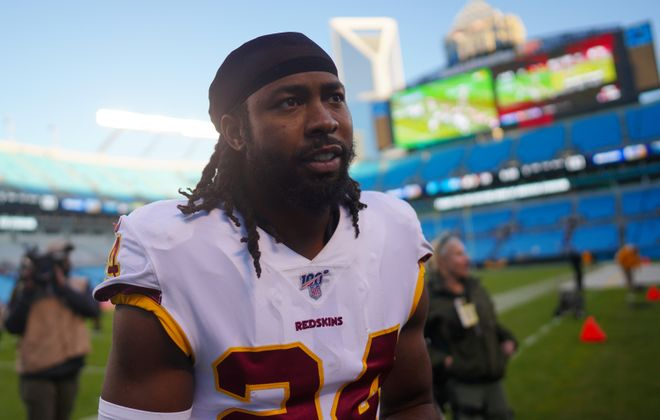 Josh Norman recently signed with the Bills (Jacob Kupferman/Getty Images)