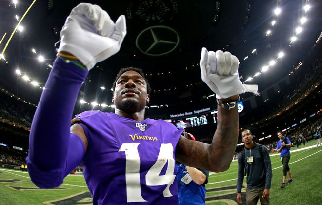 Stefon Diggs is eager to join the Bills (Sean Gardner/Getty Images)
