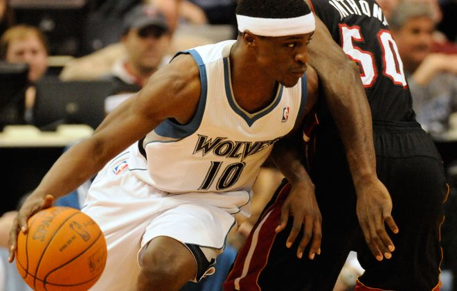 Jonny Flynn had a solid rookie season with the Minnesota Timberwolves but that was his only full season in the NBA. (Getty Images)