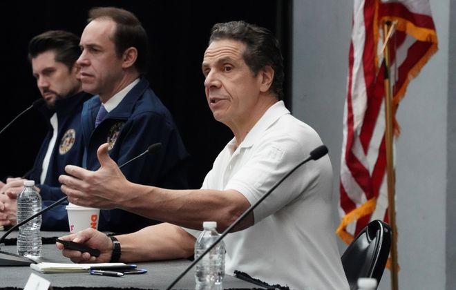 Gov. Andrew Cuomo addresses the state's coronavirus response. (Getty Images file photo)