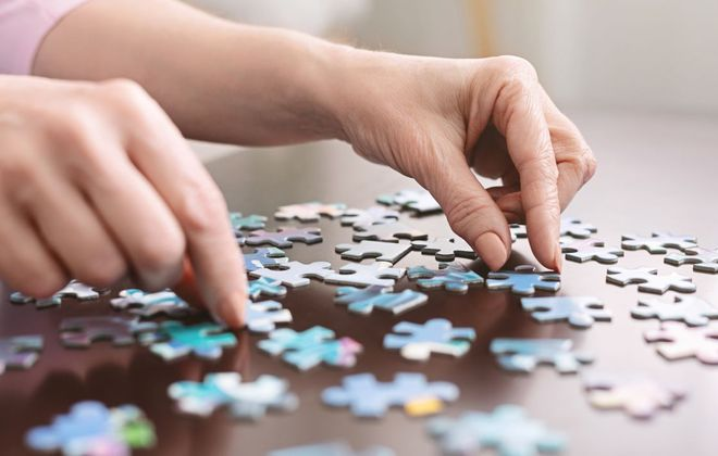 For many people  looking for something to do at home, jigsaw puzzles have been a good fit.