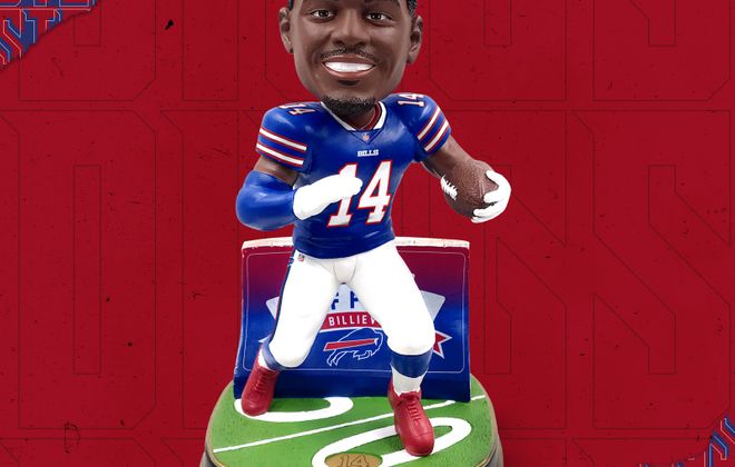 The new Stefon Diggs bobblehead. (Provided photo)